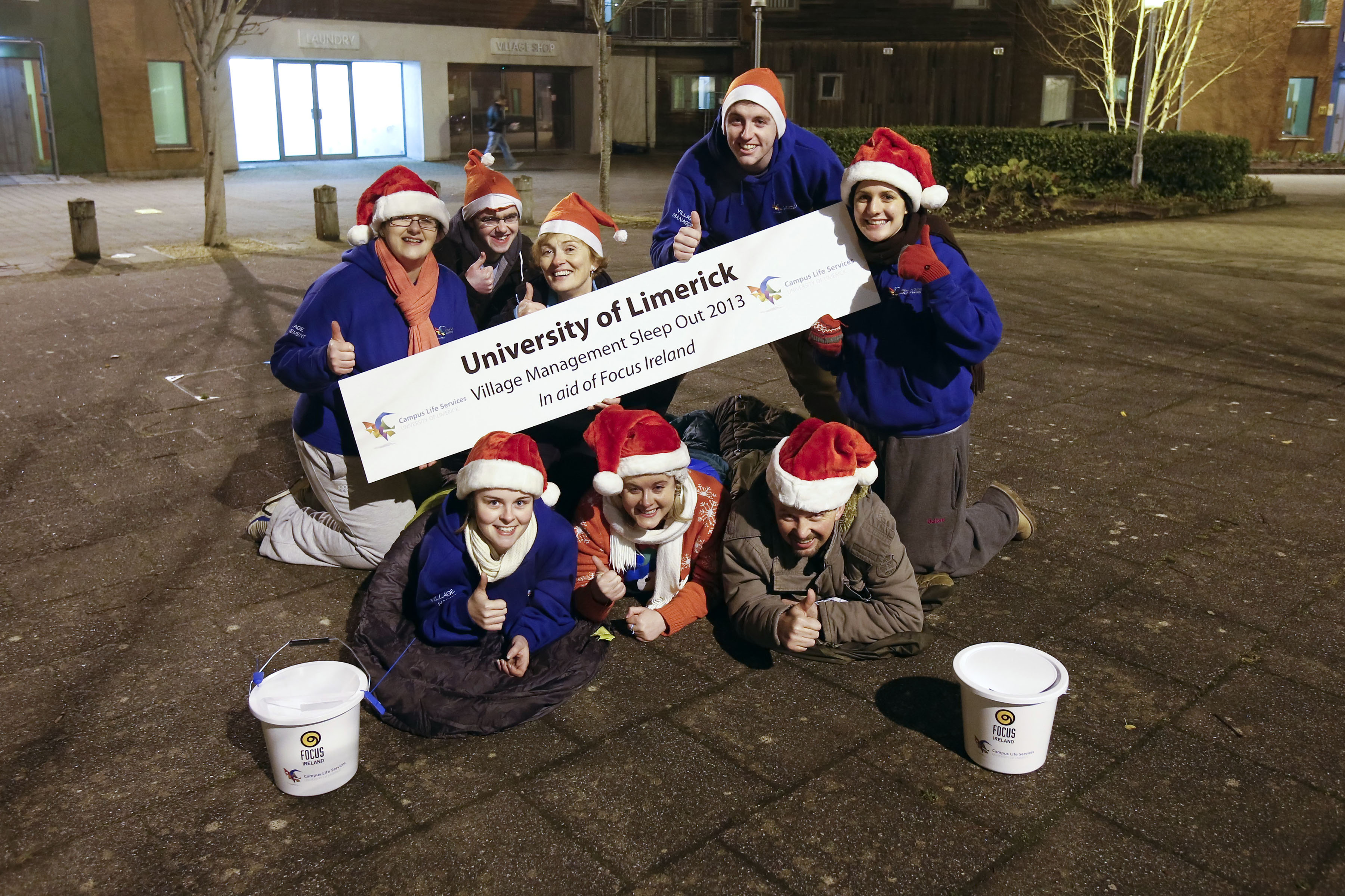 Annual Sleepout in Aid of Focus Ireland
