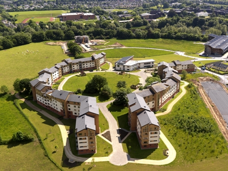 Aerial View Village residence